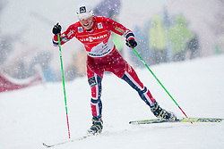 Martin Johansrud Sundby of Norway during men 9 km pursue race at the cross country Tour de Ski 2014 of the FIS cross country World cup competition on January 5th, 2014 in Alpe Cermis, Val di Fiemme, Italy. (Photo by Urban Urbanc / Sportida)