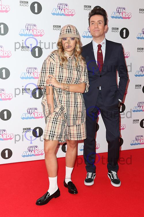 Rita Ora, Nick Grimshaw, Radio 1 Teen Awards, SSE Arena Wembley, London UK, 22 October 2017, Photo by Richard Goldschmidt
