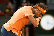 Rafael Nadal during the Madrid Open at Manzanares Park Tennis Centre, Madrid<br /> Picture by EXPA Pictures/Focus Images Ltd 07814482222<br /> 06/05/2016<br /> ***UK &amp; IRELAND ONLY***<br /> EXPA-ESP-160506-0032.jpg