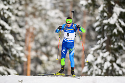 March 9, 2019 - –Stersund, Sweden - 190309 Vladimir Chepelin of Belarus competes in the Men's 10 KM sprint during the IBU World Championships Biathlon on March 9, 2019 in Östersund..Photo: Petter Arvidson / BILDBYRÃ…N / kod PA / 92252 (Credit Image: © Petter Arvidson/Bildbyran via ZUMA Press)