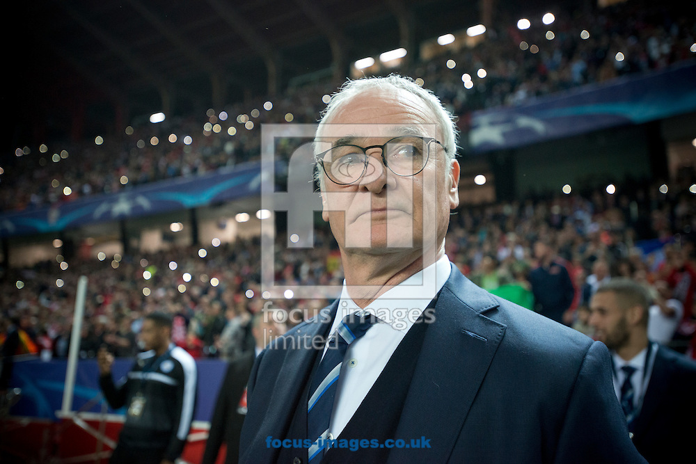 Leicester City manager Claudio Ranieri before the UEFA Champions League match at Ramon Sanchez Pizjuan Stadium, Seville<br /> Picture by Russell Hart/Focus Images Ltd 07791 688 420<br /> 22/02/2017