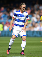 Queens Park Rangers' Sebastian Polter during the pre-season friendly match at Loftus Road, London.