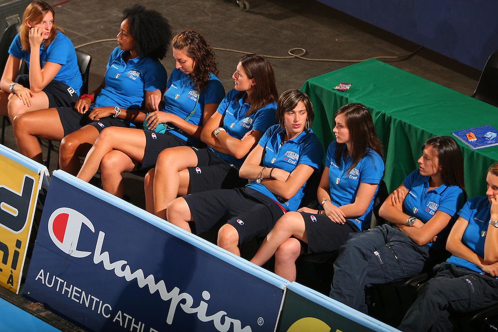 DESCRIZIONE : Bormio Torneo Internazionale Femminile Olga De Marzi Gola Italia Grecia <br /> GIOCATORE : Team Italia Team Italy <br /> SQUADRA : Nazionale Italia Donne Italy <br /> EVENTO : Torneo Internazionale Femminile Olga De Marzi Gola <br /> GARA : Italia Grecia Italy Greece <br /> DATA : 24/07/2008 <br /> CATEGORIA : <br /> SPORT : Pallacanestro <br /> AUTORE : Agenzia Ciamillo-Castoria/S.Silvestri <br /> Galleria : Fip Nazionali 2008 <br /> Fotonotizia : Bormio Torneo Internazionale Femminile Olga De Marzi Gola Italia Grecia <br /> Predefinita :