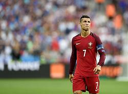 Cristiano Ronaldo of Portugal  - Mandatory by-line: Joe Meredith/JMP - 10/07/2016 - FOOTBALL - Stade de France - Saint-Denis, France - Portugal v France - UEFA European Championship Final