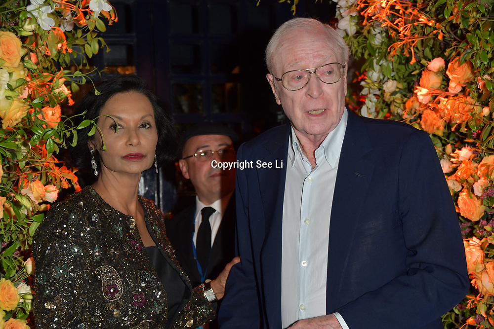 Michael Caine arrives at Tramp Members Club 40 Jermyn Street, on 23 May 2019, London, UK.