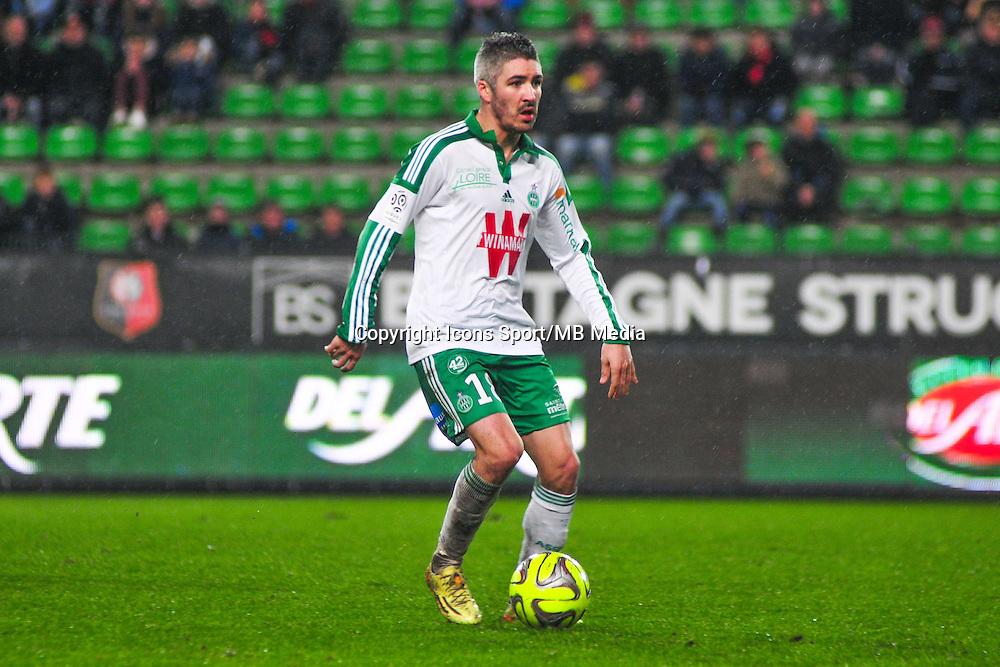 Fabien Lemoine  - 18.01.2015 - Rennes / Saint Etienne - 21eme journee de Ligue 1 - <br /> Photo : Philippe Le Brech / Icon Sport