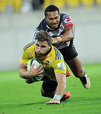 Wellington-Super Rugby, Hurricanes v Rebels