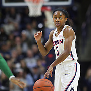 STORRS, CONNECTICUT- NOVEMBER 17: Crystal Dangerfield #5 of the UConn Huskies in action during the UConn Huskies Vs Baylor Bears NCAA Women's Basketball game at Gampel Pavilion, on November 17th, 2016 in Storrs, Connecticut. (Photo by Tim Clayton/Corbis via Getty Images)