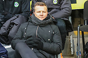 Forest Green Rovers manager, Mark Cooper during the EFL Sky Bet League 2 match between Forest Green Rovers and Bury at the New Lawn, Forest Green, United Kingdom on 19 January 2019.
