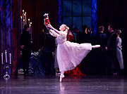 The Nutcracker <br /> choreography by Sir Peter Wright <br /> at the <br /> Birmingham Royal Ballet <br /> Birmingham Hippodrome, Great Britain <br /> 24th November 2017 <br /> <br /> Laura Day as Clara <br /> <br /> Photograph by Elliott Franks <br /> Image licensed to Elliott Franks Photography Services
