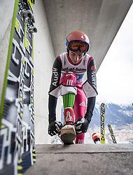 04.01.2014, Bergisel Schanze, Innsbruck, AUT, FIS Ski Sprung Weltcup, 62. Vierschanzentournee, Probesprung, im Bild Michael Neumayer (GER) //Michael Neumayer (GER)  during Trial Jump of 62nd Four Hills Tournament of FIS Ski Jumping World Cup at the Bergisel Schanze, Innsbruck, Austria on 2014/01/04. EXPA Pictures © 2014, PhotoCredit: EXPA/ JFK