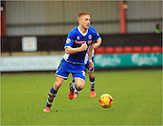Callum Camps during the Sky Bet League 1 match between Crewe Alexandra and Rochdale at Alexandra Stadium, Crewe, England on 6 February 2016. Photo by Daniel Youngs.