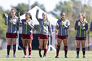October 8, 2016: The Lubbock Christian University Lady Chaparrals play the Oklahoma Christian University Eagles on the campus of Oklahoma Christian University