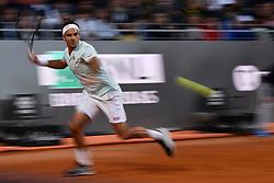 May 16, 2019 - Roma, Italia - Foto Alfredo Falcone - LaPresse.16/05/2019 Roma ( Italia).Sport Tennis.Internazionali BNL d'Italia 2019.Roger Federer (sui) vs Borna Coric (cro).Nella foto:Roger Federer..Photo Alfredo Falcone - LaPresse.16/05/2019 Roma (Italy).Sport Tennis.Internazionali BNL d'Italia 2019.Roger Federer (sui) vs Borna Coric (cro).In the pic:Roger Federer (Credit Image: © Alfredo Falcone/Lapresse via ZUMA Press)