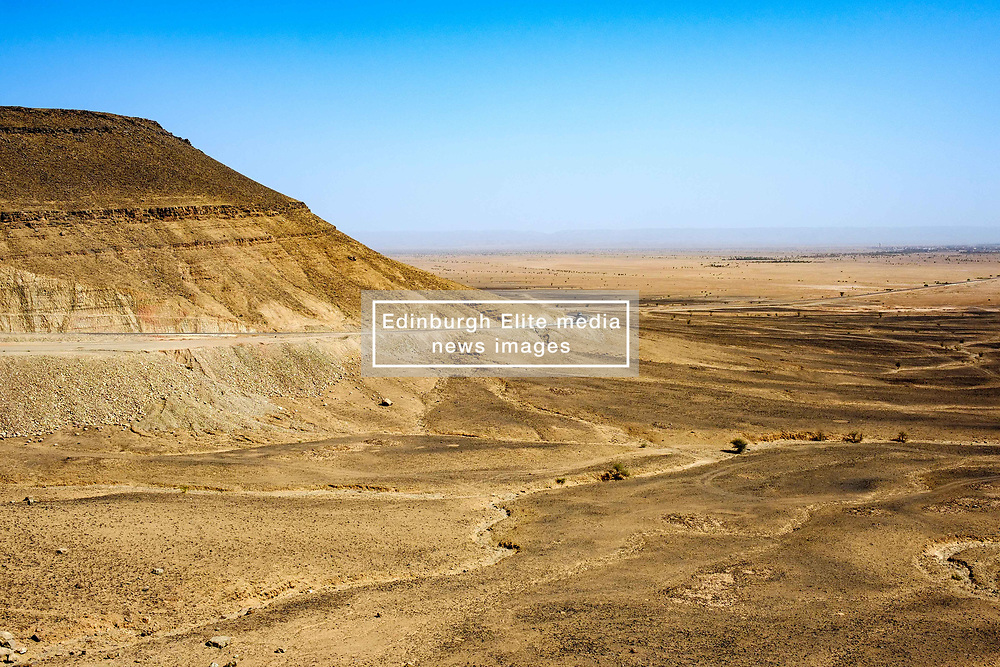 The Moroccan desert near Tagounite in the far south of Morocco<br /> <br /> (c) Andrew Wilson | Edinburgh Elite media