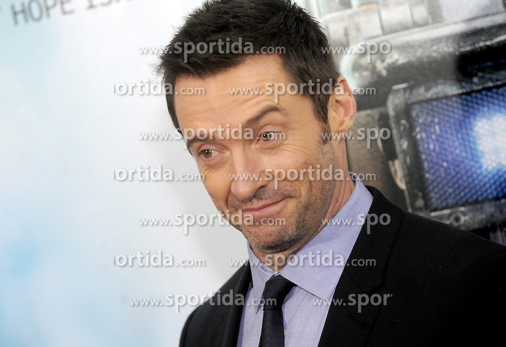 World Premiere of Chappie at AMC Loews Lincoln Square in New York City on March 04, 2015, Image Shows: Hugh Jackman. EXPA Pictures &copy; 2015, PhotoCredit: EXPA/ Photoshot/ Dennis Van Tine<br /> <br /> *****ATTENTION - for AUT, SLO, CRO, SRB, BIH, MAZ only*****