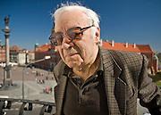 13.04.2007 Warszawa pisarz Jozef Hen.Fot Piotr Gesicki