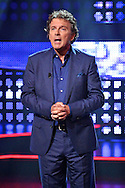 HILVERSUM - In Studio 24 is de vierde halve finale van Hollands Got Talent geweest.  Met op de foto presentator Robert ten Brink. FOTO LEVIN DEN BOER - PERSFOTO.NU