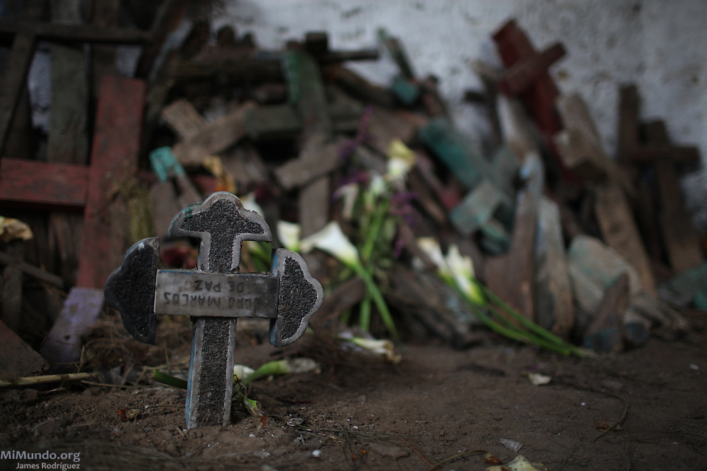Cemetery in Nebaj, Quiché, Guatemala. 2012.