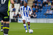 Colchester United's Kyel Reid(17) on the attack during the EFL Sky Bet League 2 match between Colchester United and Carlisle United at the Weston Homes Community Stadium, Colchester, England on 14 October 2017. Photo by Phil Chaplin