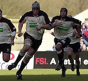 02/03/2003.Sport - 2003 Powergen Cup Semi- final - London Irish v Northampton Saints.