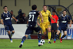 Ivan Knezovic  (25) of Domzale at 1st football game of 2nd Qualifying Round for UEFA Champions league between NK Domzale vs HNK Dinamo Zagreb, on July 30, 2008, in Domzale, Slovenia. Dinamo won 3:0. (Photo by Vid Ponikvar / Sportal Images)