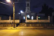 Church in Cumanayagua, Cienfuegos, Cuba.