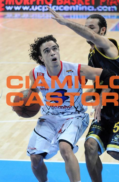 DESCRIZIONE : Piacenza Campionato Lega Basket A2 2011-12 Morpho Basket Piacenza Givova Scafati<br /> GIOCATORE : Marco Passera<br /> SQUADRA : Morpho Basket Piacenza<br /> EVENTO : Campionato Lega Basket A2 2011-2012<br /> GARA : Morpho Basket Piacenza Givova Scafati<br /> DATA : 30/10/2011<br /> CATEGORIA : Palleggio Penetrazione<br /> SPORT : Pallacanestro <br /> AUTORE : Agenzia Ciamillo-Castoria/L.Lussoso<br /> Galleria : Lega Basket A2 2011-2012 <br /> Fotonotizia : Piacenza Campionato Lega Basket A2 2011-12 Morpho Basket Piacenza Givova Scafati<br /> Predefinita :