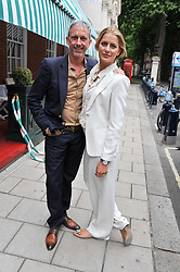 PATRICK COX and PRINCESS NIKOLAOS OF GREECE at a lunch to celebrate the the Lulu & Co Autumn/Winter 2011 collection held at Harry's Bar, 26 South Audley Street, London W1 on 21st June 2011.
