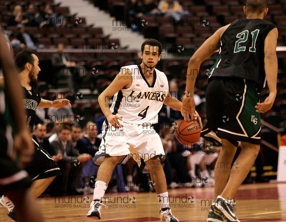 CIS Basketball Champioships-Ottawa, March 19, 2010, Windsor Lancers-Josh Collins