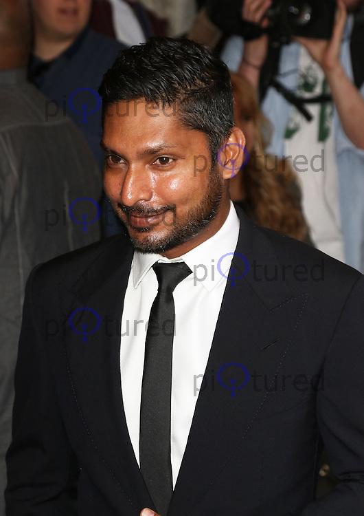 Kumar Sangakkara, The Asian Awards, Grosvenor House Hotel, London UK, 17 April 2015, Photo by Richard Goldschmidt