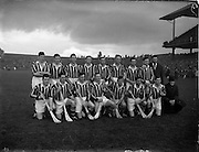 20/10/1957<br /> 10/20/1957<br /> 20 October 1957<br /> Oireachtas Final: Kilkenny v Waterford at Croke Park, Dublin. Kilkenny Team.