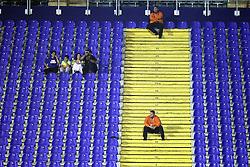 18.09.2012, Maksimir Stadium, Zagreb, CRO, UEFA Champions League, Dinamo Zagreb vs FC Porto, Gruppe A, im Bild Empty stands // during the UEFA Champions League group A match between Dinamo Zagreb and FC Porto at the Maksimir Stadium, Zagreb, Croatia on 2012/09/18. EXPA Pictures © 2012, PhotoCredit: EXPA/ Pixsell/ Goran Stanzl..***** ATTENTION - OUT OF CRO, SRB, MAZ, BIH and POL *****