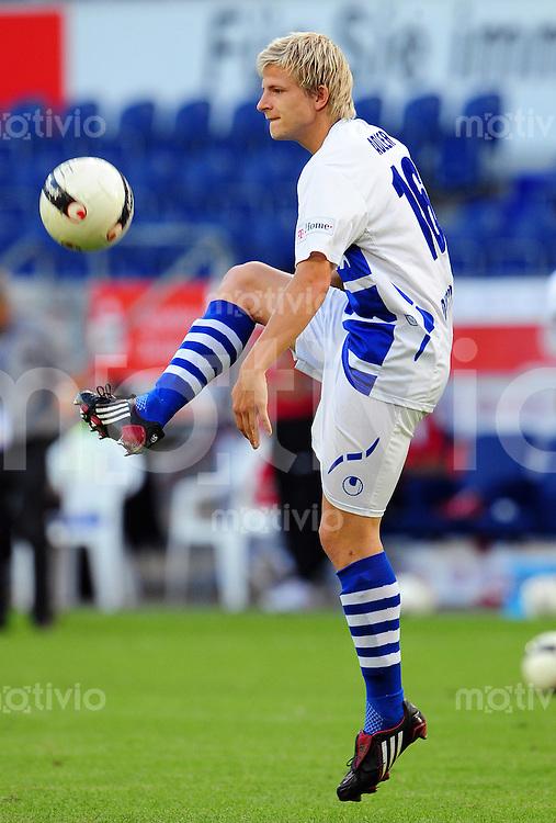 FUSSBALL   BUNDESLIGA   TESTSPIEL  SAISON 2008/2009 MSV Duisburg - 1. FC Koeln                 01.08.2008 Nicky ADLER (MSV Duisburg), Einzelaktion am Ball