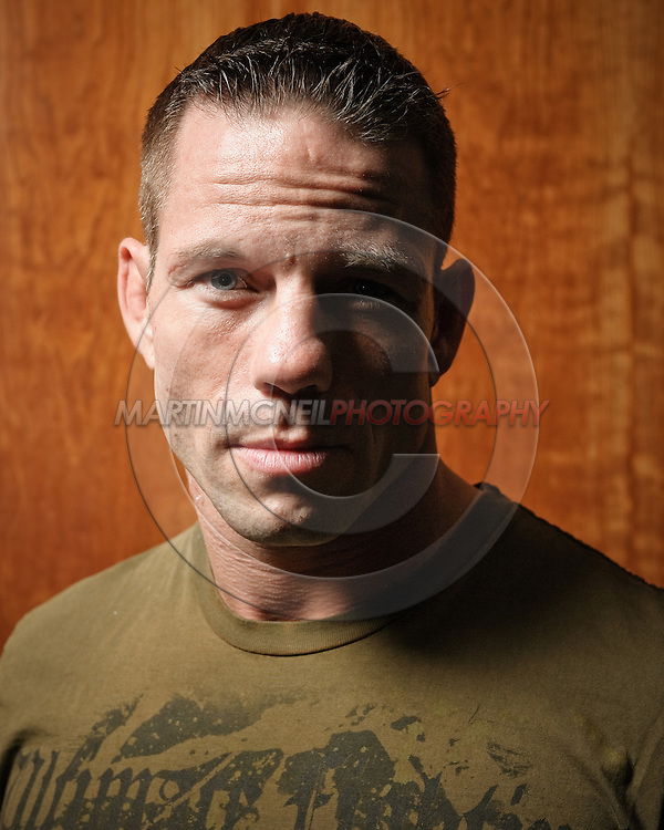 London, United Kingdom, June 5 2008: UFC fighter portrait session