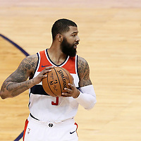07 December 2017: Washington Wizards forward Markieff Morris (5) is seen during the Washington Wizards 109-99 victory over the Phoenix Suns, at the Talking Stick Resort Arena, Phoenix, Arizona, USA.