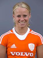 UTRECHT - Lisa Scheerlinck.  Jong Oranje meisjes -21 voor EK 2014 in Belgie (Waterloo). COPYRIGHT KOEN SUYK