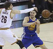 Golden State v Cleveland Cavaliers - 7 June 2017