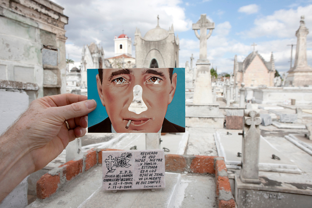 People and Places with Bogart Nose Card