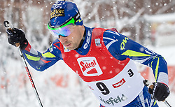 31.01.2016, Casino Arena, Seefeld, AUT, FIS Weltcup Nordische Kombination, Seefeld Triple, Langlauf, im Bild Maxime Laheurte (FRA) // Maxime Laheurte of France competes during 15km Cross Country Gundersen Race of the FIS Nordic Combined World Cup Seefeld Triple at the Casino Arena in Seefeld, Austria on 2016/01/31. EXPA Pictures © 2016, PhotoCredit: EXPA/ Jakob Gruber