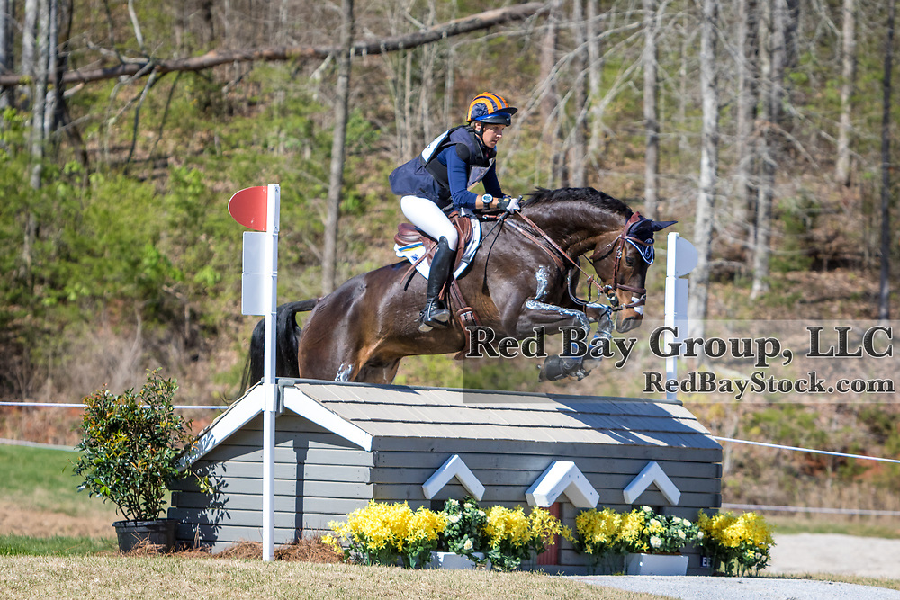 Elisabeth Halliday-Sharp (USA) and Fernhill By Night at The Fork Horse Trials at the Tryon International Equestrian Center in Mill Spring, North Carolina.