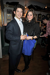 SAM WALEY-COHEN and BELLA BALLIN at a party to celebrate the opening of Barts, Sloane Ave, London on 26th February 2009.