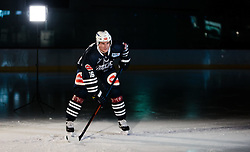 10.08.2015, Red Bull Akademie Liefering, Salzburg, AUT, EBEL, Medien Tag, im Bild Daniel Nageler (EC VSV) // during the Erste Bank Icehockey League Media Day at the Red Bull Football and Icehockey Academy Liefering in Salzburg, Austria on 2015/08/10. EXPA Pictures © 2015, PhotoCredit: EXPA/ JFK