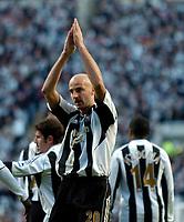 Photo: Jed Wee.<br /> Newcastle United v Portsmouth. The Barclays Premiership. 26/11/2006.<br /> <br /> Newcastle goalscorer Antoine Sibierski celebrates.