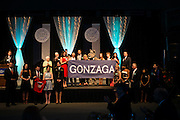 Representatives from the Gonzaga Community receive the 2013 Ignatian Spirit Award.<br />