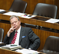03.07.2013, Parlament, Wien, AUT, Parlament, 213. Nationalratssitzung, Sitzung des Nationalrates. im Bild Nationalratsabgeordneter SPOe Wilhelm Haberzettl // during the 213th meeting of the national assembly of austria, austrian parliament, Vienna, Austria on 2013/07/03, EXPA Pictures © 2013, PhotoCredit: EXPA/ Michael Gruber