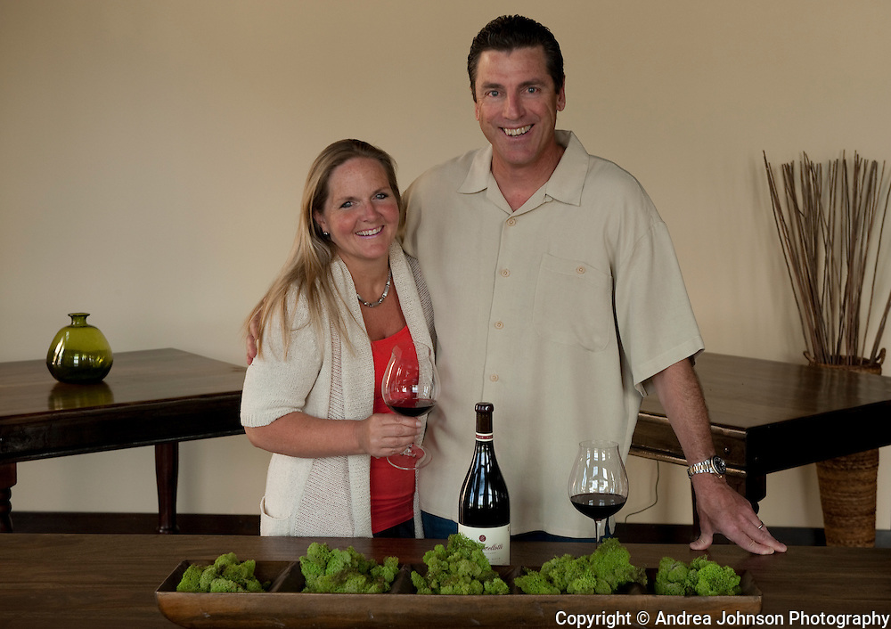Kendall Bergstrom, General Manager and owner, and Paul de Lancellotti, Wine Educator and Biodynamic Farming consultant, Inn at Dundee Hills, Dundee, Willamette Valley, Oregon