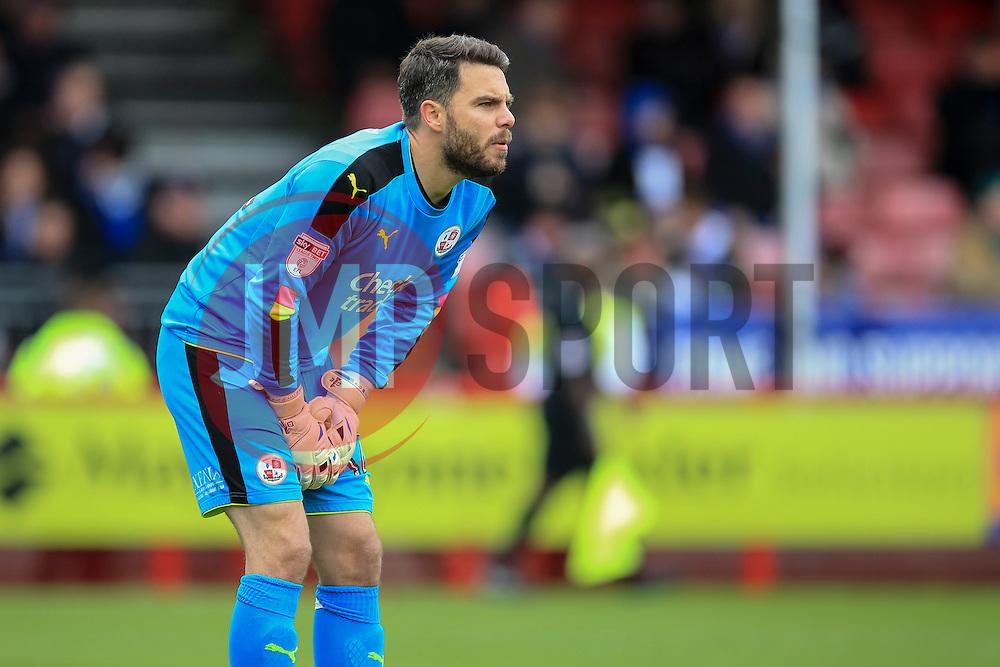 Glenn Morris of Crawley Town - Mandatory by-line: Jason Brown/JMP - 05/11/2016 - FOOTBALL - Checkatrade.com Stadium - Crawley, England - Crawley Town v Bristol Rovers - Emirates FA Cup first round
