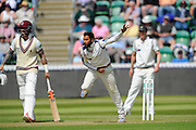 Yorkshire's Adil U Rashid during the Specsavers County Champ Div 1 match between Somerset County Cricket Club and Yorkshire County Cricket Club at the County Ground, Taunton, United Kingdom on 16 May 2016. Photo by Graham Hunt.