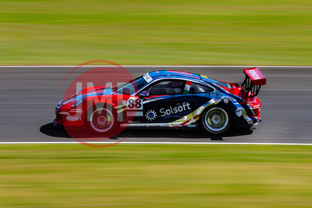 Dino Zamparelli | Bristol Sport Racing | #88 Porsche 911 GT3 Cup car | Porsche Carrera Cup GB Qualifying - Mandatory byline: Rogan Thomson/JMP - 07966 386802 - 27/06/2015 - SPORT - MOTORSPORT - North Yorkshire, England - Croft Circuit - BTCC Meeting Day 1.